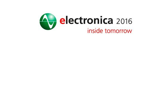 Electronica 8.-11. November 2016 – wir sind dabei!